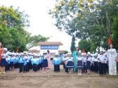 Học sinh trường Tiểu học Lê Đình Chinh trong ngày khai giảng năm học 2017-2018