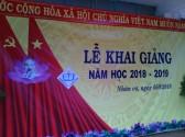 Tiểu học Lê Đình Chinh ngày khai giảng năm học mới